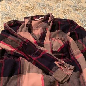 Maurices flannel type shirt